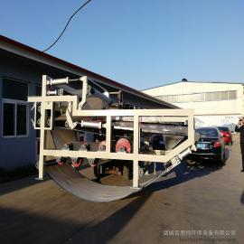 百思特工业污泥干化处理设备 带式压滤机BHG系列