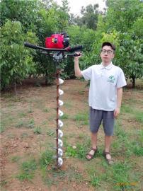 专业轻便快速种树打洞机器手提地钻挖坑机