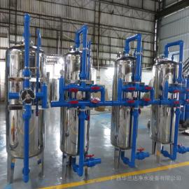 农村一体化净水设备工程 井水净化过滤器 华兰达厂家长期承接