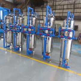 华兰达厂家供应全自动石英砂过滤器 化工厂污水前置过滤设备