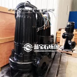 QSB7.5kw射流曝气机 自吸式螺旋曝气器潜底式