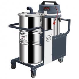 纺织厂用充电式吸尘器吸毛绒纤维吸尘器移动式干式吸尘机