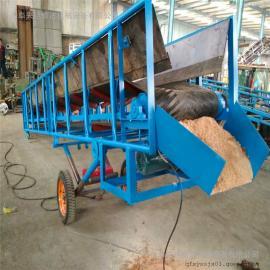 养殖厂用可整机移动可升降且防滑 皮带输送机