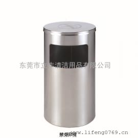 禁烟B桶 带禁烟标志的垃圾桶 不锈钢禁烟垃圾箱 酒店禁烟垃圾桶