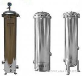 华兰达卡箍式精密过滤器 保安过滤器芯式过滤器耐腐蚀不锈钢