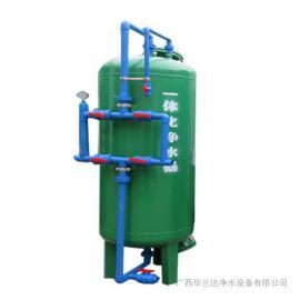 华兰达厂家供应村镇一体化净水设备出水达国家生活饮用水标准