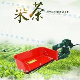 24v电动采茶机 充电式绿篱机便携式修剪机 单手操作采茶修剪机
