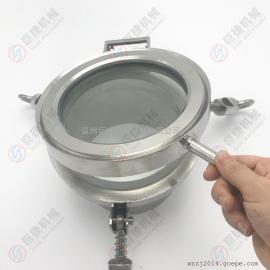 一体式全镜手孔 耐压视镜手孔 不锈钢人孔304 316L卫生级人孔