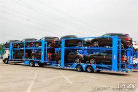 东风天锦轿运车能装几辆小车