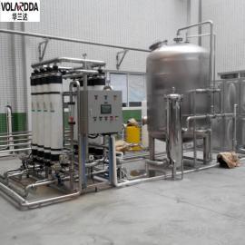 华兰达超滤设备处理后的山泉水达到桶装水标准 来电咨询价更优