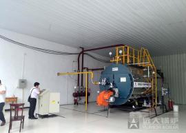 4吨燃气锅炉,4吨蒸汽锅炉厂