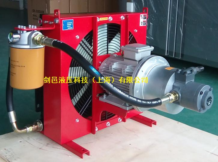 剑邑ELZX-5系列自吸循环型液压风冷却器_循环冷却型液压散热器