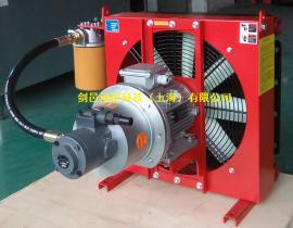 剑邑ELZX-5-A3液压系统独立自吸循环型液压风冷却器