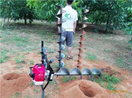 让人快乐作业的机器雷力手提植树挖坑机