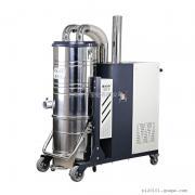 五金机械加工厂车间用7.5KW大功率自动清灰工业吸尘器