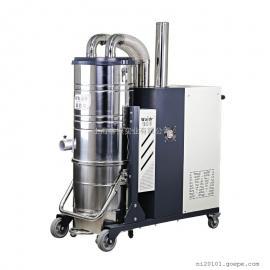 水泥厂车间用吸尘器 移动式380V工业吸尘器吸水泥灰尘专用吸尘器