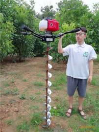 小型植树挖坑机现代种植绿化必备