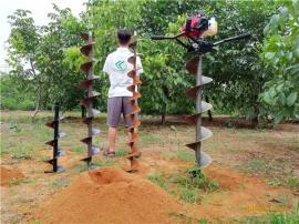 轻便式手扶多功能电线杆挖坑机