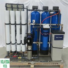 纯净水设备 化工原料液的配比用水 华兰达反渗透纯化水设备