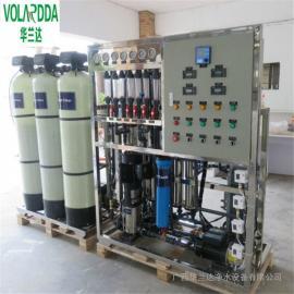 华兰达厂家2吨全自动EDI去离子水设备 清洗化工用水高纯水设备
