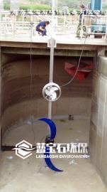 QJB5.5/1800潜水推流器配4/12潜水搅拌机效果佳