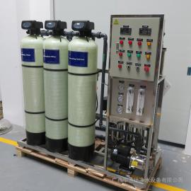 华兰达供应1T/H全自动反渗透设备 学校直饮水设备 纯净水设备