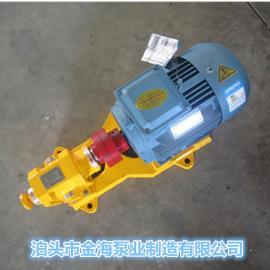 泊头金海泵业直销ZYB渣油泵筑路泵燃烧器油泵 卧式电动齿轮泵