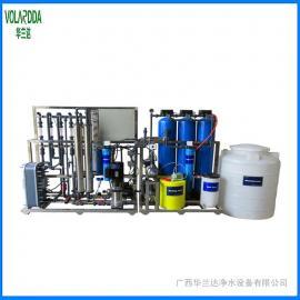 华兰达EDI反渗透设备 1t液晶LED工厂用超高纯水设备 去离子设备