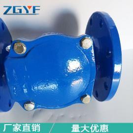 橡胶瓣止回阀 管道阀门生产厂家 自来水管道设备 H44X阀门