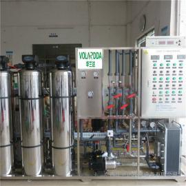 华兰达 厂家供应不锈钢超纯水设备 电镀涂装用水EDI反渗透设备