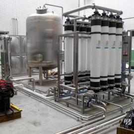 华兰达供应饮用水设备25吨矿泉水设备 山泉水制取超滤设备