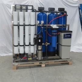 沿海高盐度水淡化直饮水设备 厂家华兰达全自动除盐设备