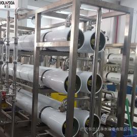 CE认证水厂10吨/H水处理矿泉水设备质量保障 华兰达纯净水设备