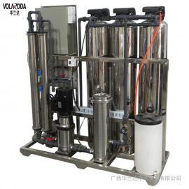 华兰达CE认证不锈钢纯水设备 医疗器械清洗用水反渗透设备