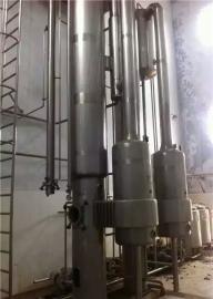 二手三效四顿钛材强制循环多效浓缩蒸发器维护