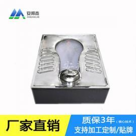 泡沫节水厕所蹲便器安邦杰厂家定制不锈钢节水发泡蹲便器