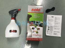 solo索逻460 Li电动喷雾器 1L喷雾器充电式园艺喷壶 洒水壶