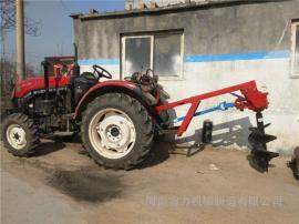 拖拉机种树挖坑机大面积种植超级快