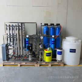 华兰达电渗析EDI反渗透设备 蓄电池机械清洗用水超纯水设备