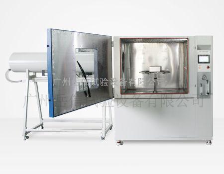 汽车配件等, 防水测试设备ipx56手动式冲水试验箱采用箱式结构,无场地