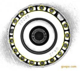 基于机器视觉的圆锥轴承滚子漏装倒装检测系统