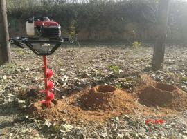 小型手提式植树挖坑机轻便又耐用