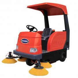 小区物业保洁清扫机,电动电瓶扫地车