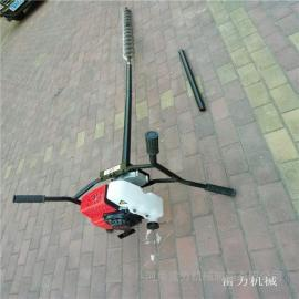 勘探�S�C器雷力小型手扶地�|取�鱼@�C