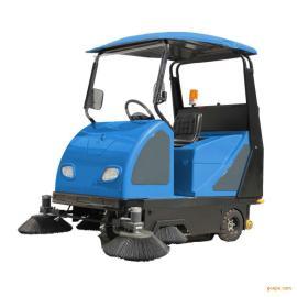 小区工厂用电动清扫车 驾驶式扫地车XZJ-1800电动扫地机