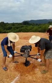 小型管桩掏土机专业清桩芯内泥浆机