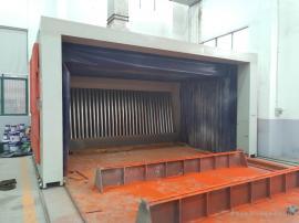 喷漆废气治理工程 喷漆房三苯废气处理工艺 包达标