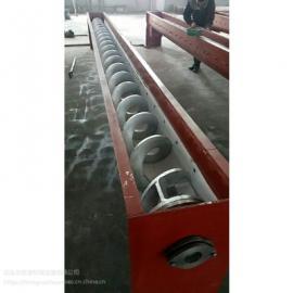 无轴螺旋输送机参数 泥浆不落地输送机钢厂绞龙