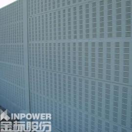 百叶孔型隔音墙 金属百叶孔隔音墙优点