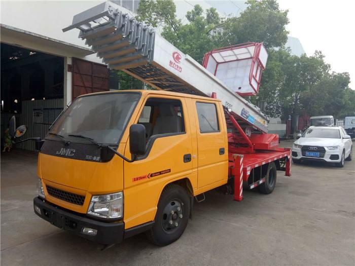 28米进口装修上料车